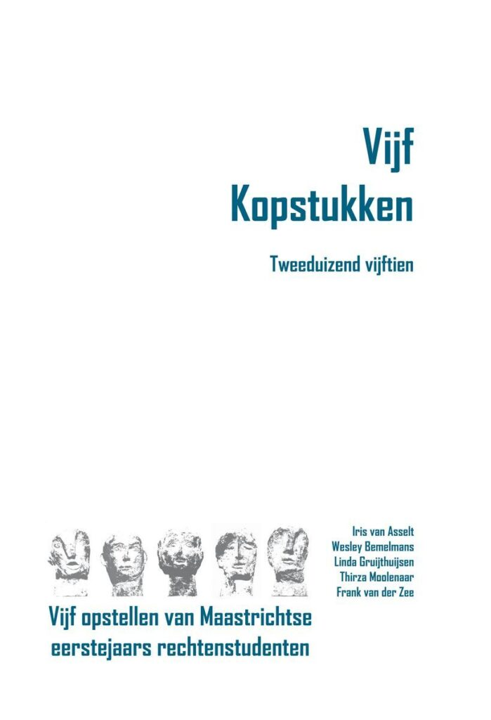 Uitgeverij Gianni: Vijf Kopstukken - Tweeduizend vijftien