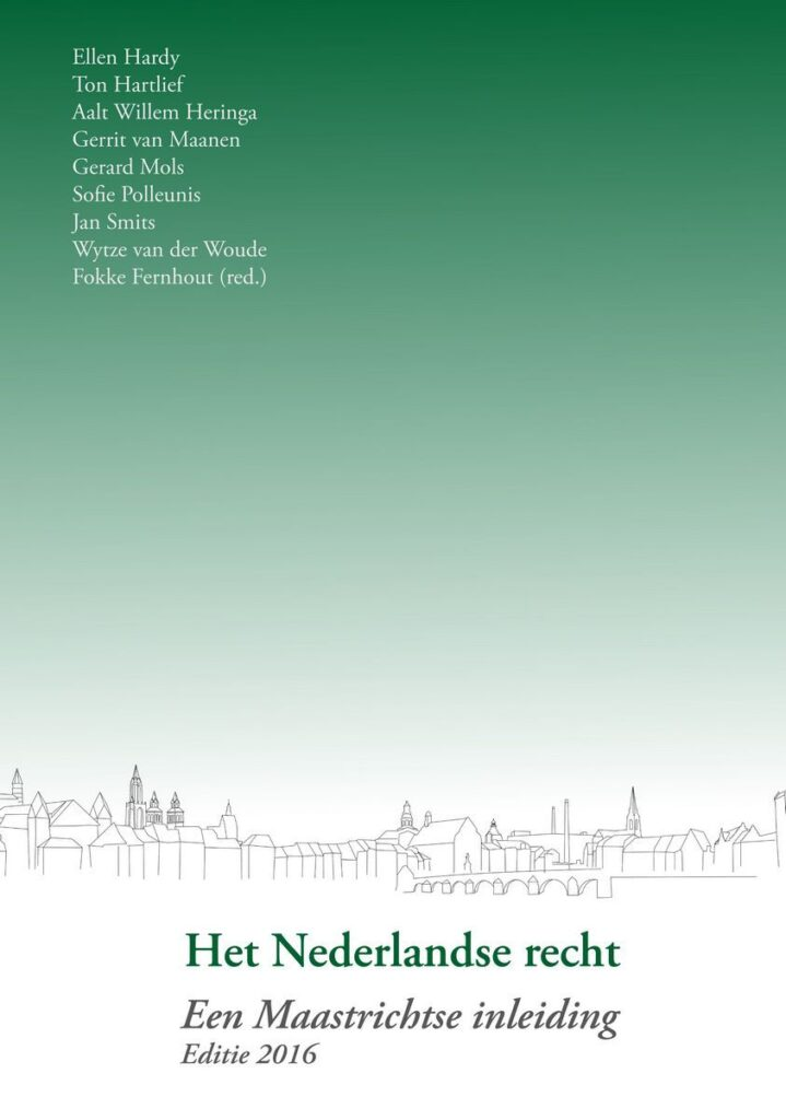 Uitgeverij Gianni: Het Nederlandse recht - een Maastrichtse inleiding (editie 2016)