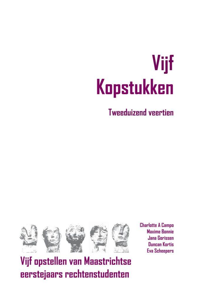 Uitgeverij Gianni: Vijf Kopstukken - Tweeduizend veertien